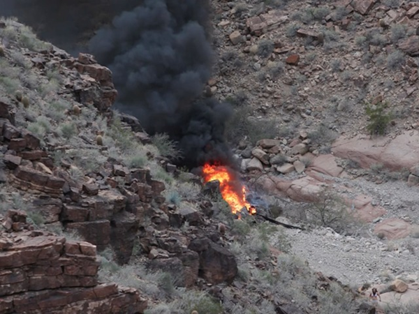 Grand Canyon Tourist Helicopter Crash